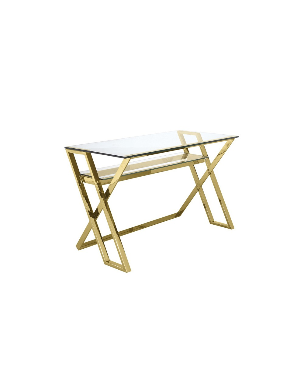 Gold Grace Desk