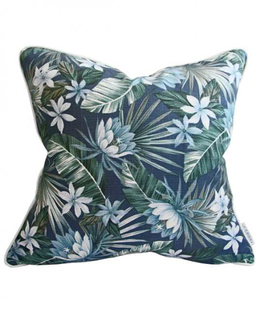 Ubud Blue Pillow