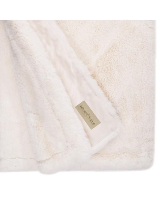 Guanaco White Blanket