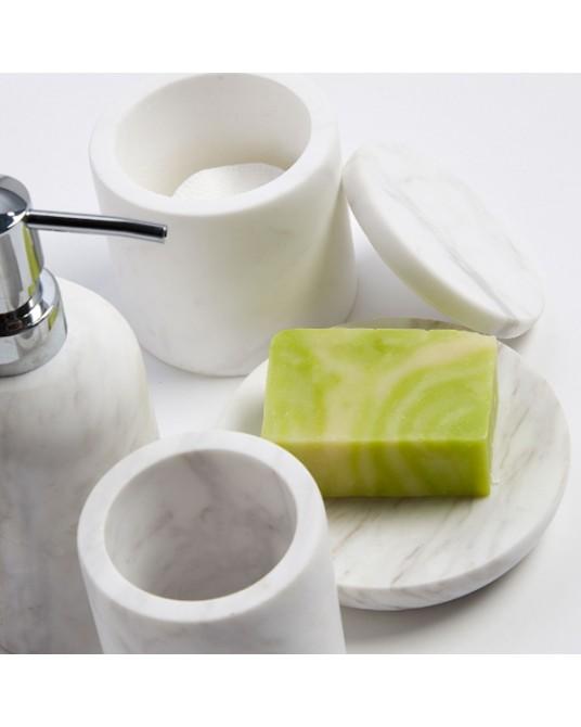 Macadam Marble Soap Dish