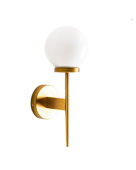 Aplique Parede Gold Torch Bola