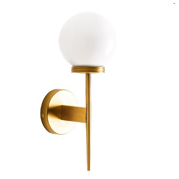 Aplique Parede Gold Torch Bola