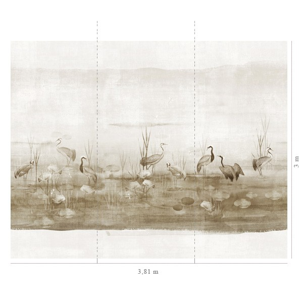 Papel Parede Waterside Sand