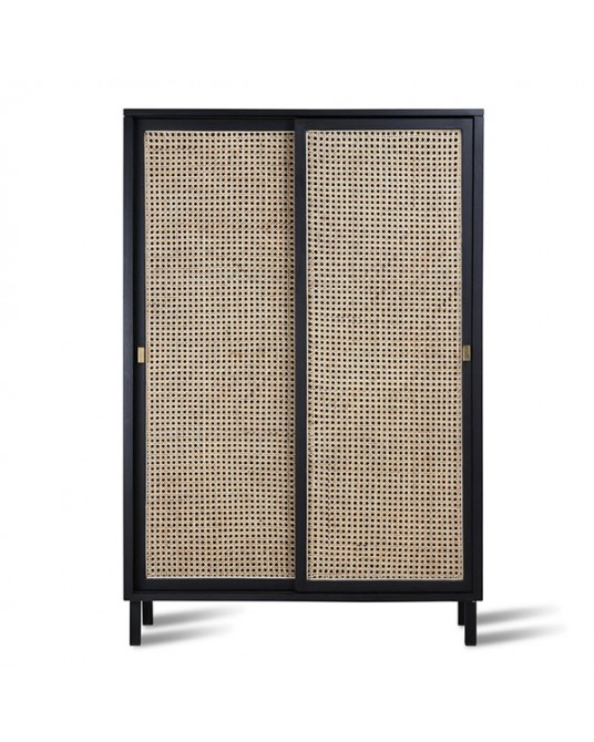 Cabinet Retro Black Basket