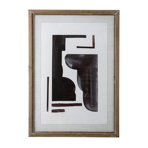 Quadro Abstract Black
