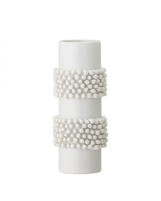 Vase Sea Dots White