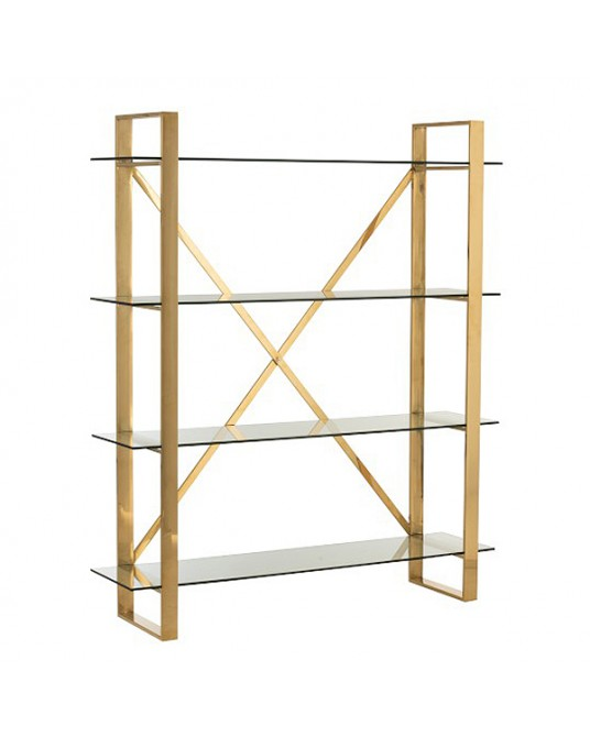 Bookcase Gold Verona
