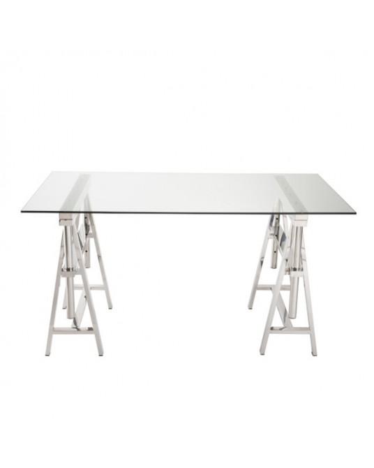 Silver Elodie Desk