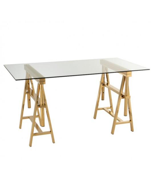 Gold Elodie Desk