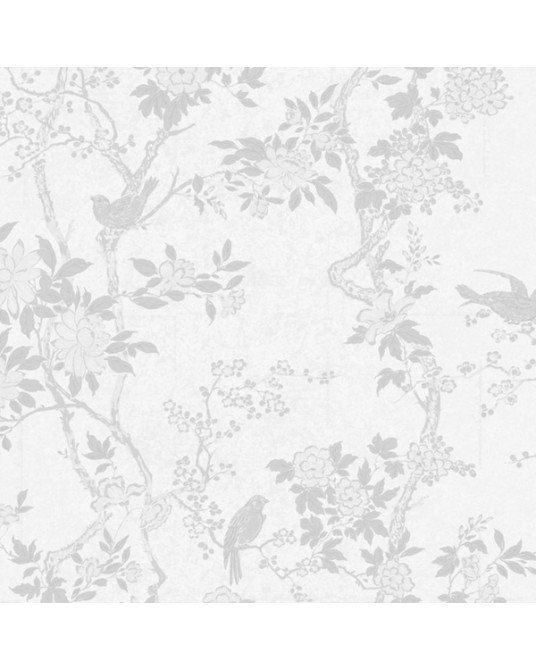 Wallpaper Marlow Floral Dove