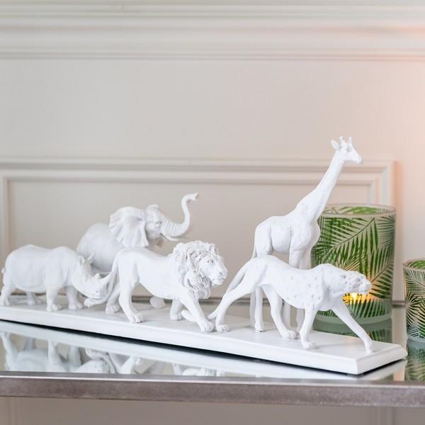 Animais Selva Branco
