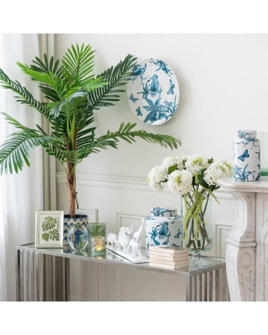 Vase Blue Tropical