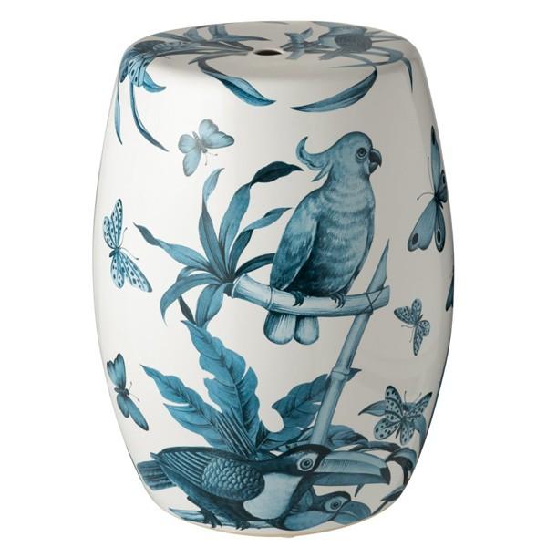 Tamborete Tropical Blue