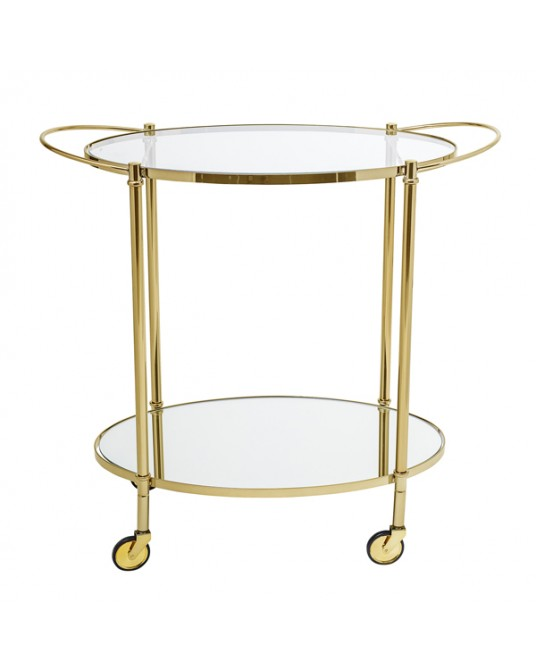 Gold Tea / Bar Cart