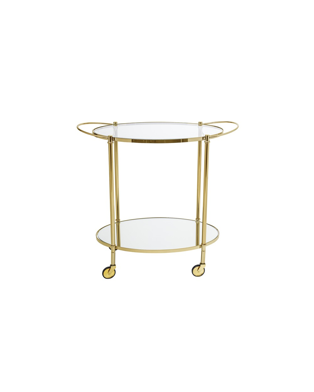Gold Tea / Bar Cart