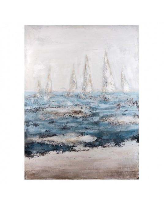 Tela Blue Boats