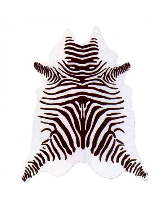 Tapete Zebra Branca