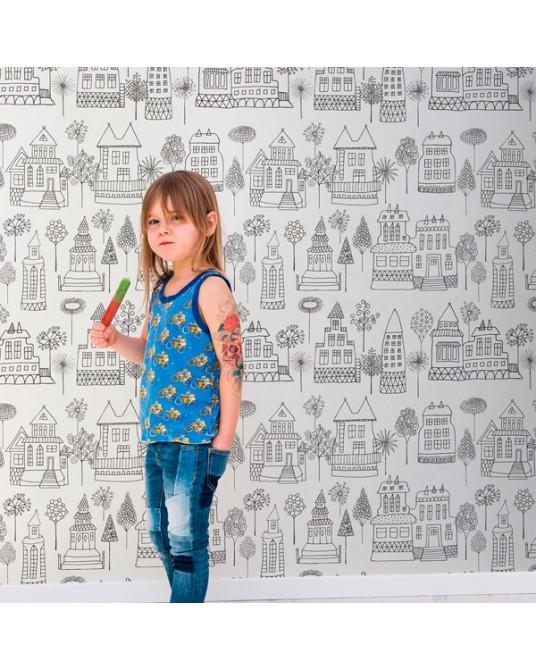 Wallpaper Kaspar Black