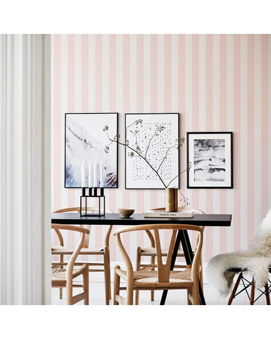Papel de Parede William Light Pink
