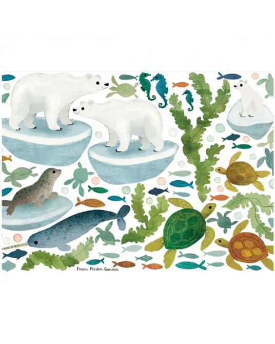 Ocean Antics Wall Stickers