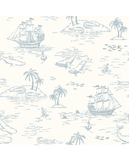 Wallpaper Treasure Island