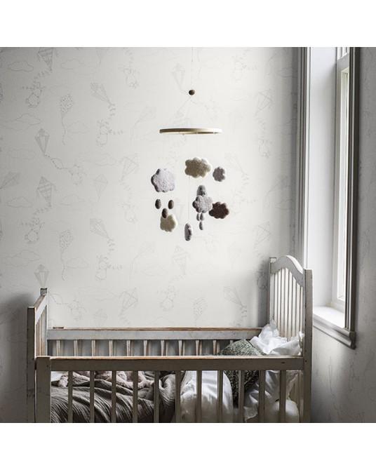 Wallpaper Up&Away Grey