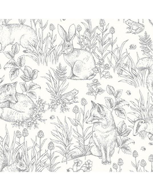 Wallpaper Forest Friends