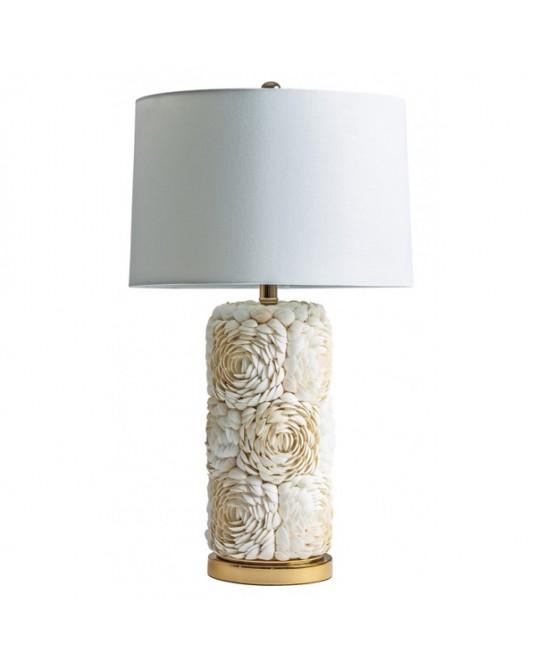 Table Lamp Flower Shells