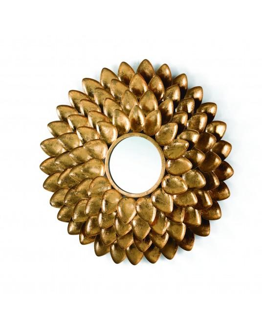 Espelho Gold Petals