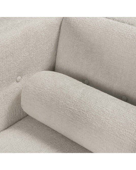 Muse White Sofa