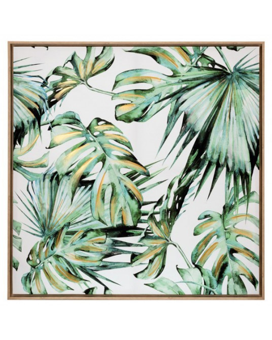 Canva Palm Green Leafs
