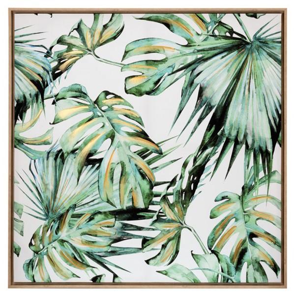 Tela Palm Green Leafs