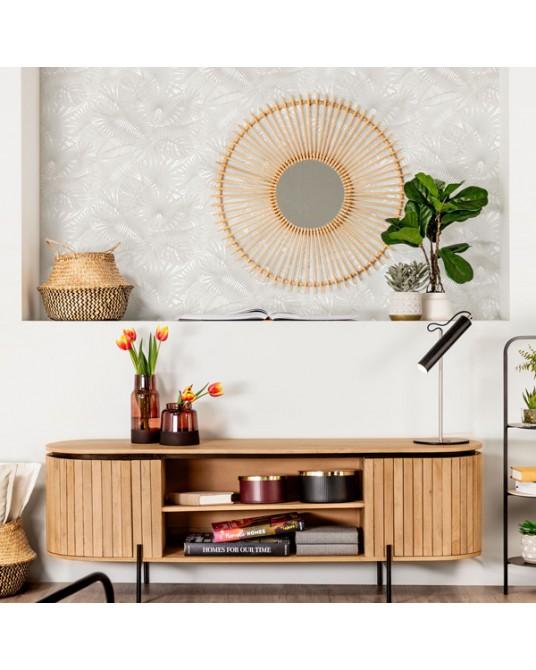 Wallpaper Tropic Grey