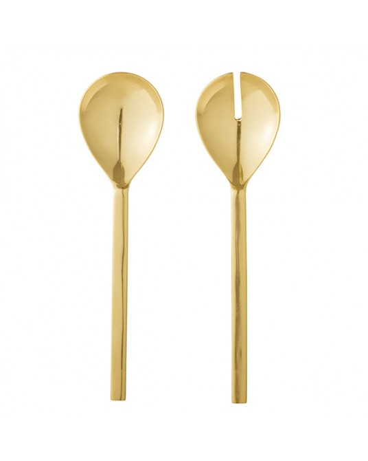 Gold Salad Spoons
