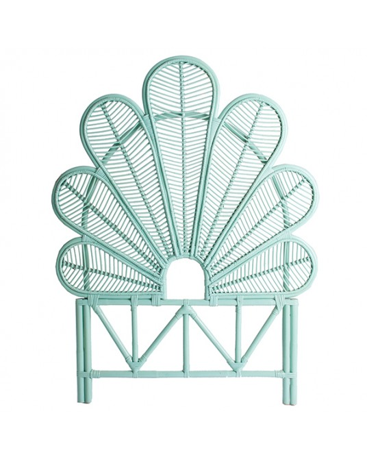 Headboard Bloom Turquoise