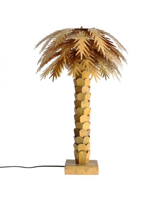 Candeeiro Gold Palm