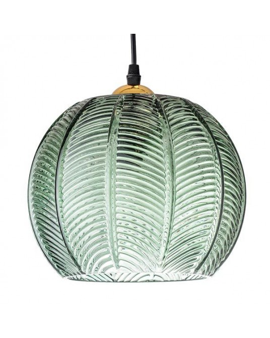 Green Glass Ceiling  Lamp