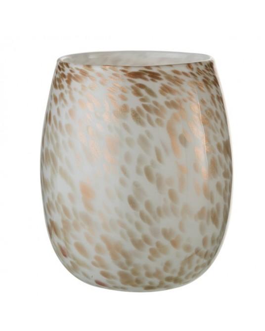 Gold Spots Vase