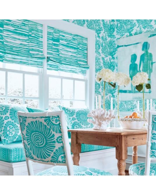 Wallpaper Marine Coral Spa Blue