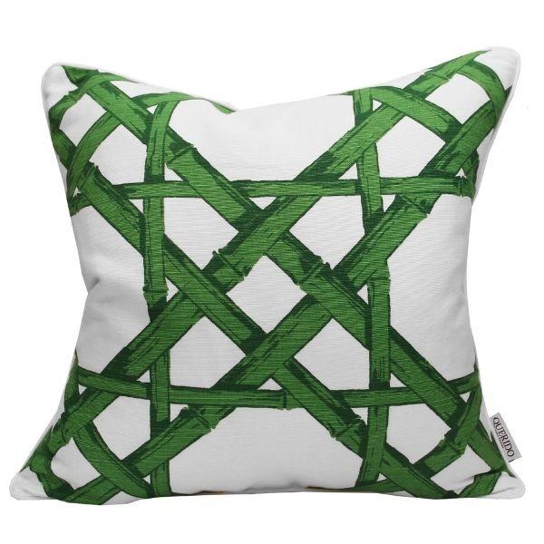 Almofada Cyrus Cane Green