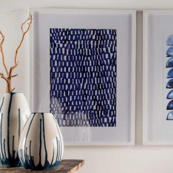 Quadro Abstract Blues I