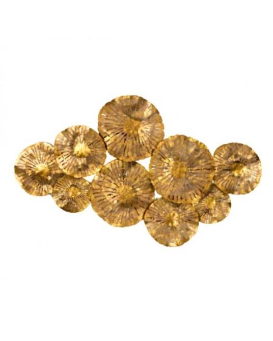 Escultura de Parede Gold Maude