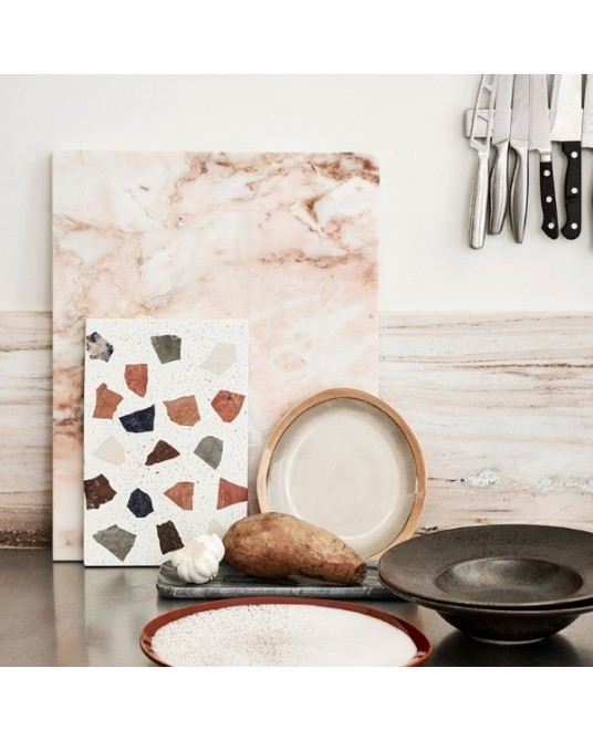 Chopping Board Marble Pink
