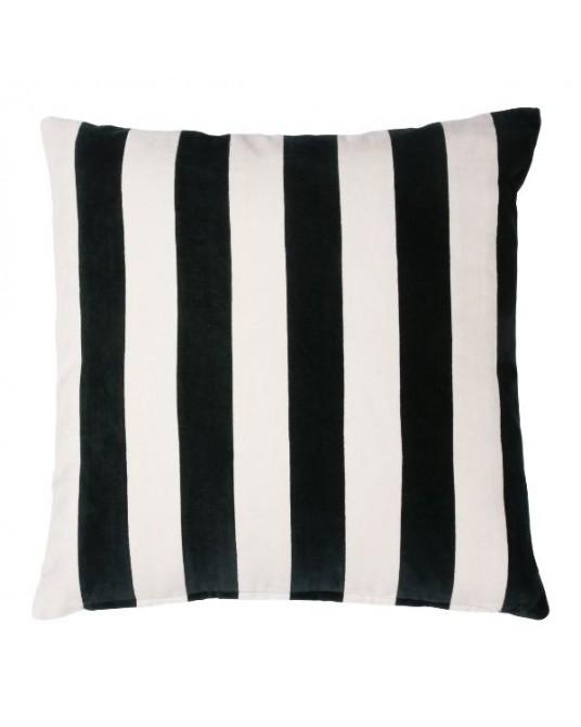 Almofada Velvet Stripes Black