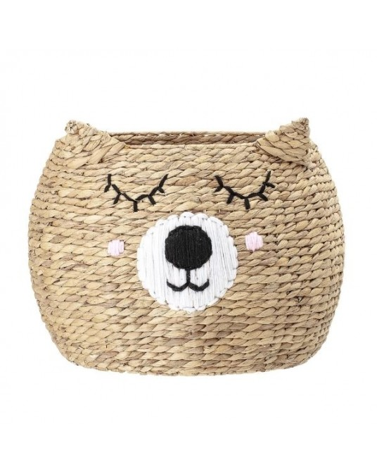 Girl Bear Basket