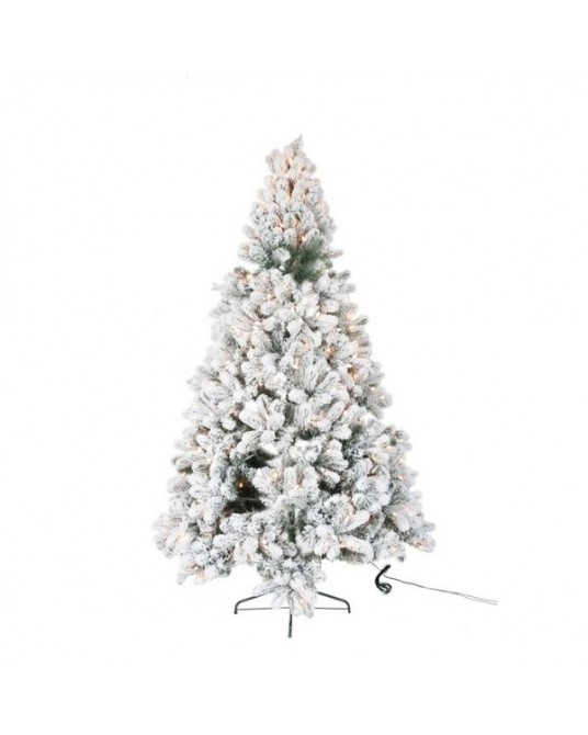 Árvore Natal Led /Neve Line H185 cm