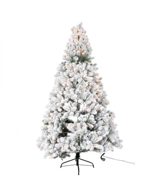 Árvore Natal Led /Neve Line H210 cm