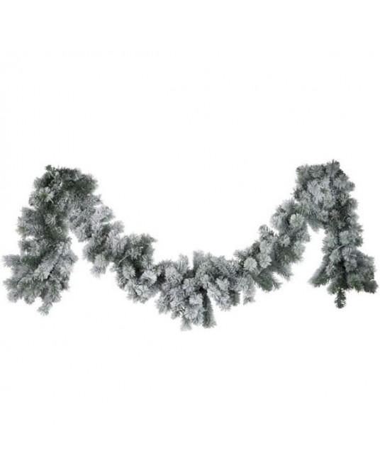 Grinalda Verde/Neve 180 cm