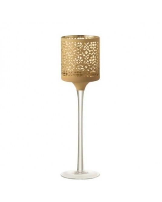 Pedestal Velas Gold Pattern