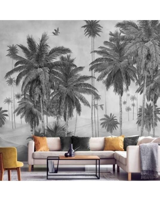 Wallpaper Mural Sabba Graphite